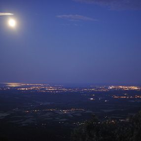 Pic St Loup nocturne