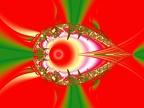 demon eye red